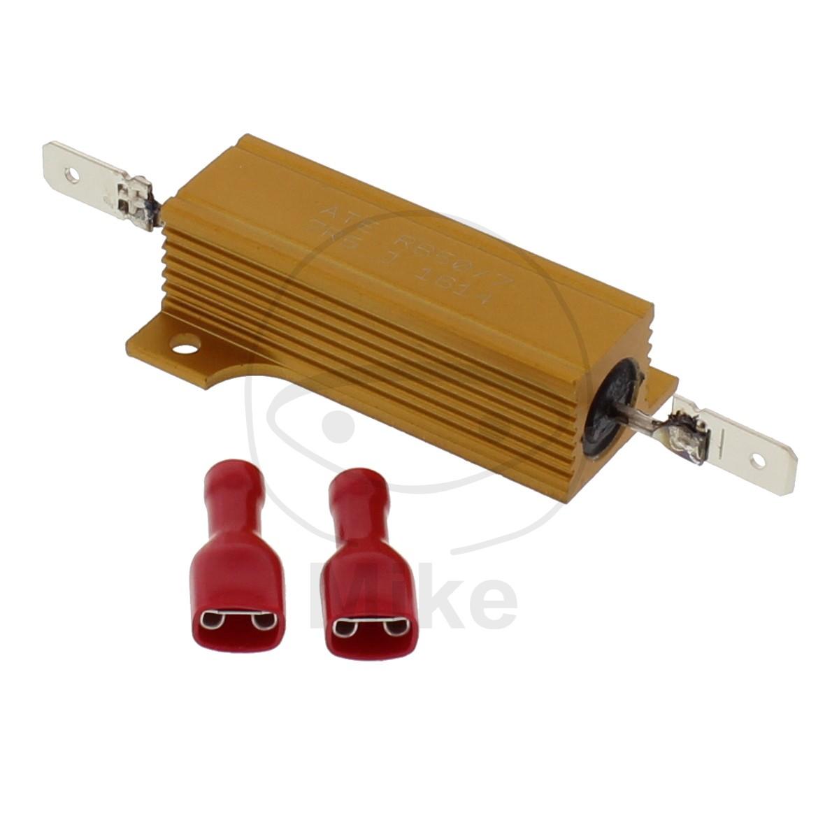LED indicator resistor 7.5 Ohmů 50W