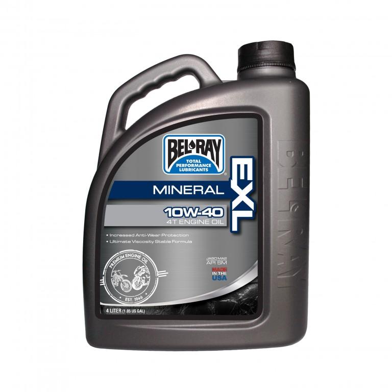 Motorový olej EXL MINERAL 4T 10W-40 4 l