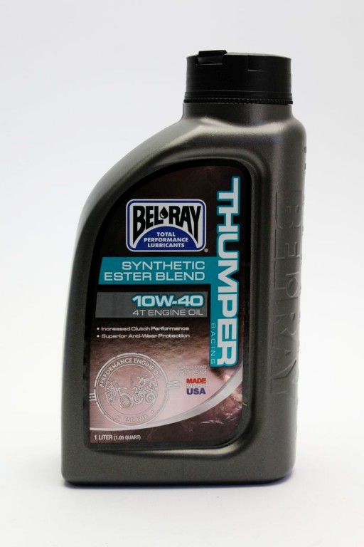 Motorový olej THUMPER RACING SYNTHETIC ESTER BLEND 4T 10W-40 1 l