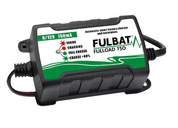 Nabíječka baterií FULLOAD 750 6V/12V