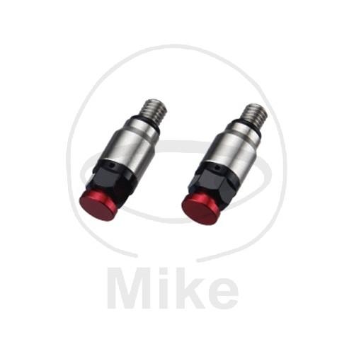Odvzdušňovací ventil přední vidlice M4 červená