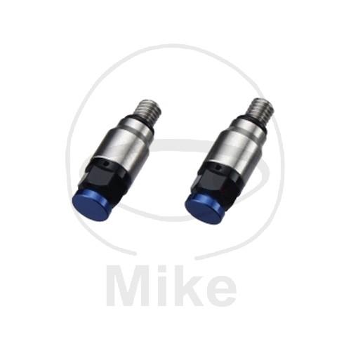 Odvzdušňovací ventil přední vidlice M4 modrá