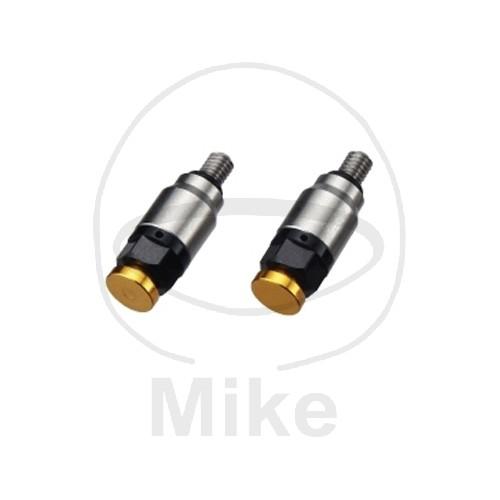 Odvzdušňovací ventil přední vidlice M4 zlatá