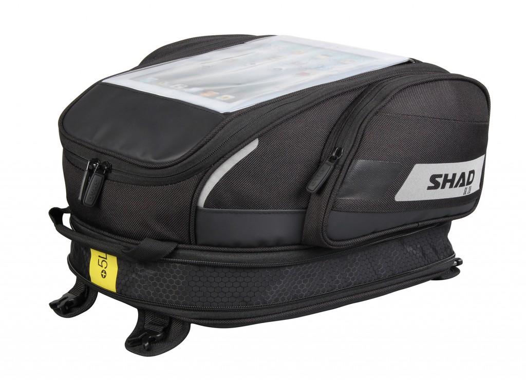 Taška na nádrž SL20F popruhy na zip