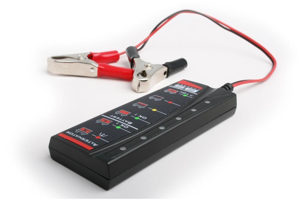 Tester baterie a alternátoru