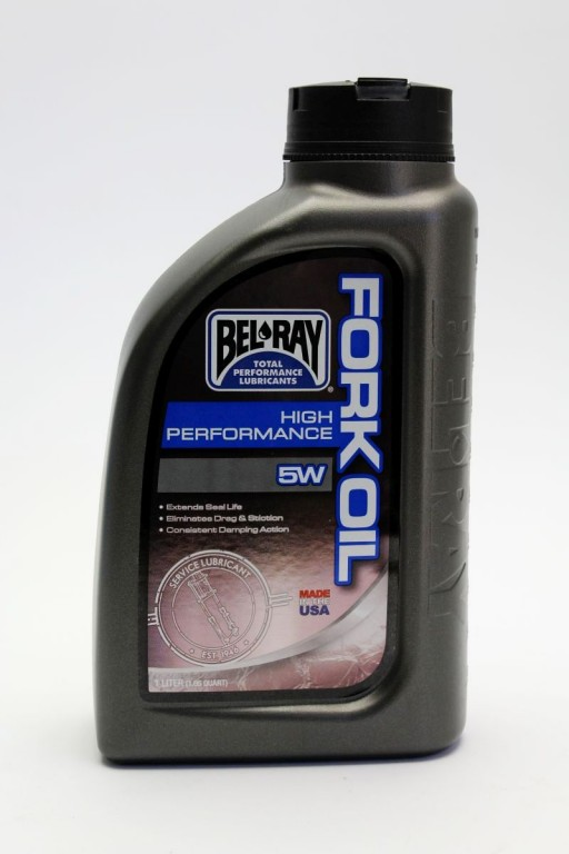 Tlumičový olej HIGH PERFORMANCE FORK OIL 5W 1l