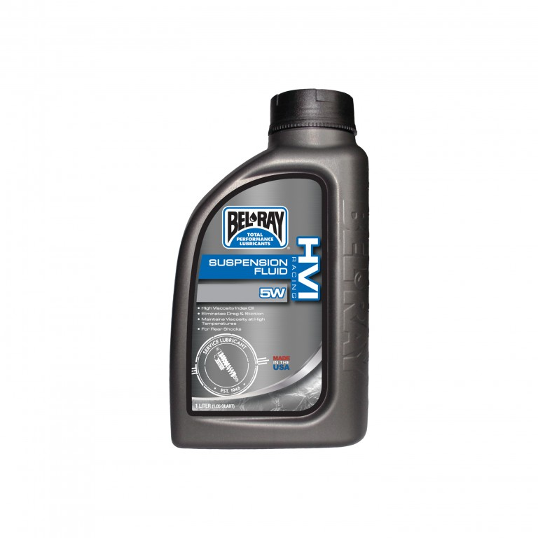 Tlumičový olej HVI RACING SUSPENSION FLUID 5W 1 l