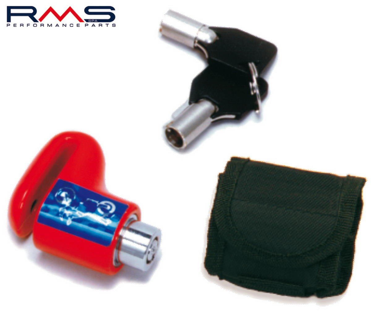 Zámek na kotouč MICRO d6mm